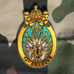 フランス軍空挺部隊第13ドラゴン連隊バッジ