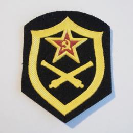ソ連軍陸軍砲兵バッジ(未使用品)