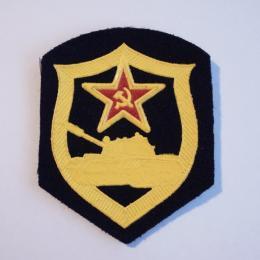 ソ連軍陸軍戦車連隊バッジ(未使用品)