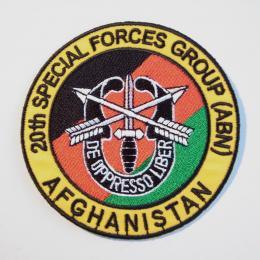 米軍陸軍特殊部隊アフガニスタンバッジ(U.S. Army)