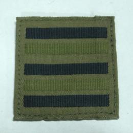 フランス陸軍空軍共通中佐低可視性階級章 (A.T/A.A)