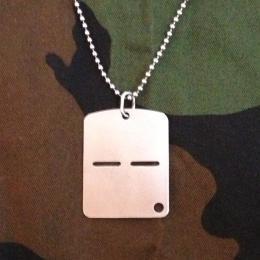 イタリア軍共通ドッグタグ(Dog Tag, ID tag)