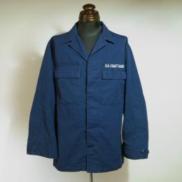 U.S. COAST GUARDファティーグジャケット(USED品)