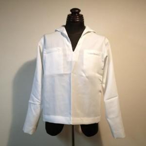 米海軍ホワイトセーラーシャツトップ(未使用品)