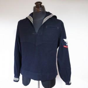 米海軍セーラーシャツトップ(USED品)