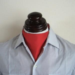 フランス軍共通正装用スカーフ(レッド)