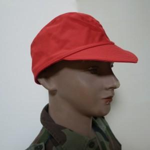 フランス軍F1訓練キャップ(レッド帽子)