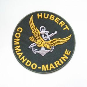 フランス軍海軍コマンドHUBERTバッジ
