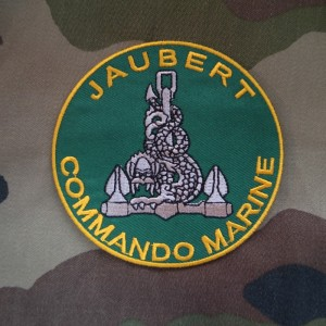 フランス軍海軍コマンドJAUBERT(ジョベール)バッジ