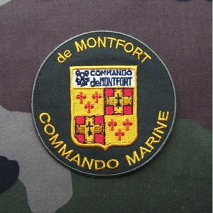 フランス軍海兵隊MONFORT(モンフォール)バッジ