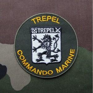 フランス軍海軍コマンドTRÉPEL(トレペル)バッジ